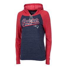 New Era New England Patriots Hoodie Graphic Damen blau/rot