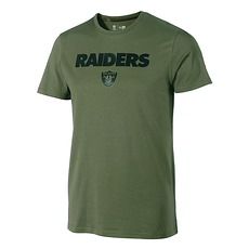 New Era Las Vegas Raiders T-Shirt Wordmark Camo oliv