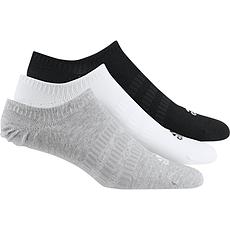 Adidas Sportsocken 3er Pack No Show Schwarz/Weiß/Grau