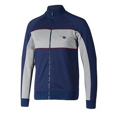 Fanatics New England Patriots Track Jacke Cut & Sew blau/grau