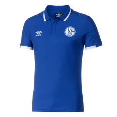 Umbro FC Schalke 04 Poloshirt 2019/2020 Blau
