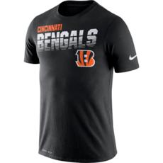 Nike Cincinnati Bengals T-Shirt NK 2019/2020 Schwarz