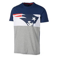 Fanatics New England Patriots T-Shirt Cut & Sew grau