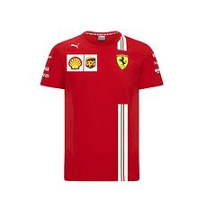 Ferrari T-Shirt Team 2020 rot