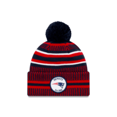 New Era New England Patriots Beanie On Field Sport Knit HM blau
