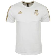 Adidas Real Madrid T-Shirt Team weiß/gold