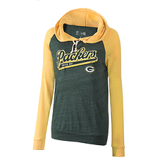 New Era Green Bay Packers Hoodie Graphic Damen grün/gelb