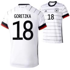 Adidas Deutschland EM 2020 DFB Trikot Heim GORETZKA Kinder