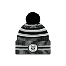 New Era Oakland Raiders Beanie On Field Sport Knit HM schwarz