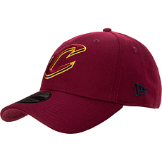 New Era Cleveland Cavaliers Cap 9FORTY weinrot
