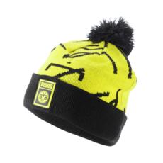 Puma Borussia Dortmund Beanie Pompom 2019/2020 Gelb/Schwarz