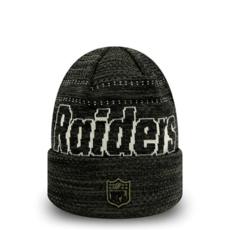 New Era Oakland Raiders Beanie Engineered Fit Cuff schwarz/oliv