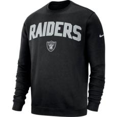 Nike Oakland Raiders Sweatshirt NK 2019/2020 Schwarz