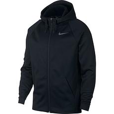 Nike Kapuzensweatjacke THERMA Schwarz