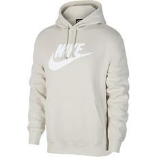 Nike Hoodie Sportswear Club Fleece Grau
