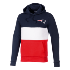 New Era New England Patriots Hoodie Colourblock blau/weiß/rot
