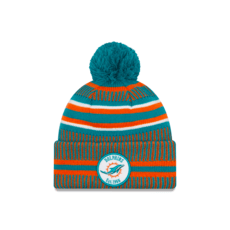 New Era Miami Dolphins Beanie On Field Sport Knit HM türkis