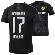 Puma Borussia Dortmund Auswärts Trikot HAALAND 2019/2020