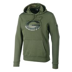 New Era Green Bay Packers Hoodie Large Print Camo olivoliv