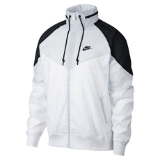 Nike Freizeitjacke Windrunner Weiß/Grau/Schwarz