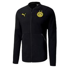Puma Borussia Dortmund Casual Jacke 2020/2021 Schwarz