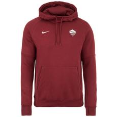 Nike AS Rom Hoodie Fleece weinrot/weiß