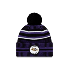 New Era Baltimore Ravens Beanie On Field Sport Knit HM lila