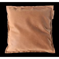 The Pearsons Home Kissen Leather dunkelbraun