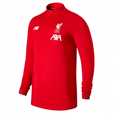 New Balance FC Liverpool Trainingslongsleeve On Pitch rot/weiß