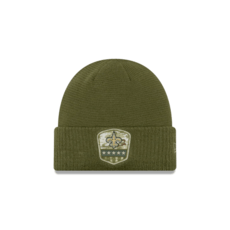 New Era New Orleans Saints Beanie Salute To Service 2019 oliv
