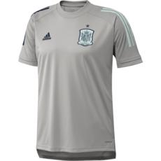 Adidas Spanien Training-Shirt EM 2021 Grau