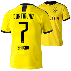 Puma Borussia Dortmund Heim Trikot SANCHO 2019/2020 Kinder