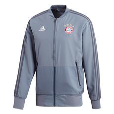 Adidas FC Bayern München Präsentationsjacke Grau