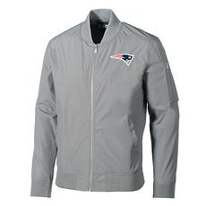 New Era New England Patriots Freizeitjacke Bomber grau
