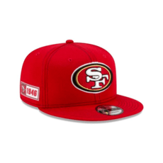 New Era San Francisco 49ers Cap On Field 9FIFTY rot
