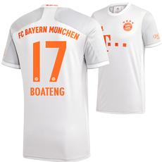 Adidas FC Bayern München Auswärts Trikot BOATENG 2020/2021 Kinder