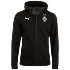 Puma Borussia Mönchengladbach Kapuzenjacke Casual Hooded schwarz