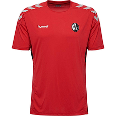 hummel SC Freiburg Trainingsshirt Tech Move rot