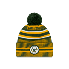New Era Green Bay Packers Beanie On Field Sport Knit HM grün