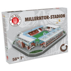 nanostad 3D Stadion Puzzle Millerntor St. Pauli