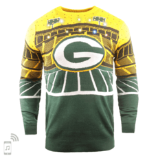 Forever Collectibles Green Bay Packers Ugly Sweater Bluetooth grün/gelb