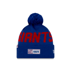New Era New York Giants Beanie On Field Sport Knit RD blau