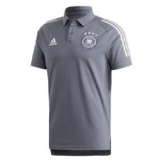 Adidas Deutschland DFB Poloshirt EM 2020 Dunkelgrau