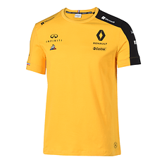 Renault F1 Team T-Shirt 2019 gelb