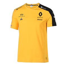 Renault F1 Team T-Shirt 2019 gelb