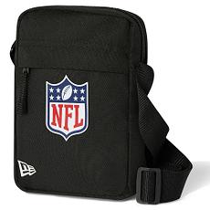 New Era NFL Shield Umhängetasche Logo schwarz