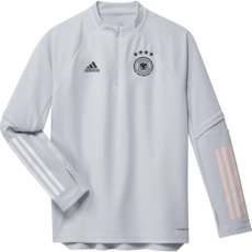 Adidas Deutschland DFB Trainingstop EM 2020 Kinder Grau