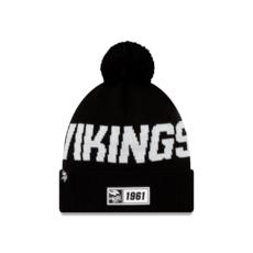 New Era Minnesota Vikings Beanie Sport Knit RD schwarz