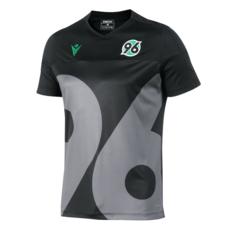 Macron Hannover 96 Trainingsshirt 2019/2020 schwarz/grau