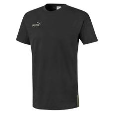 Puma T-Shirt Casual FOOTBALL NEXT Schwarz/Grün